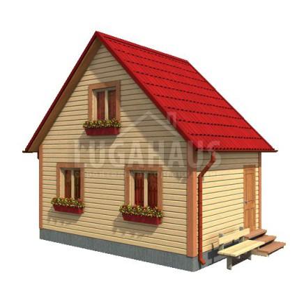 Дом №1 Размер 6х4м
