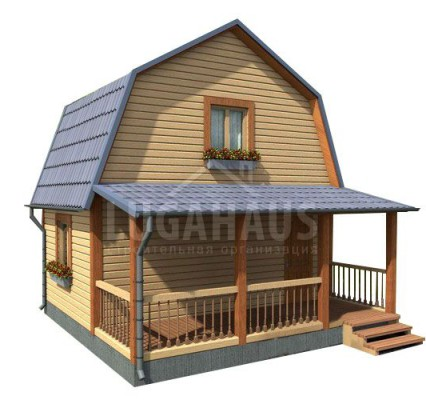 Дом №2 Размер 6х6м