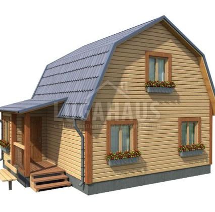 Дом №12 Размер 7,5х6