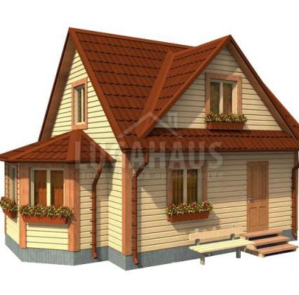 Дом №13 Размер 8х6м