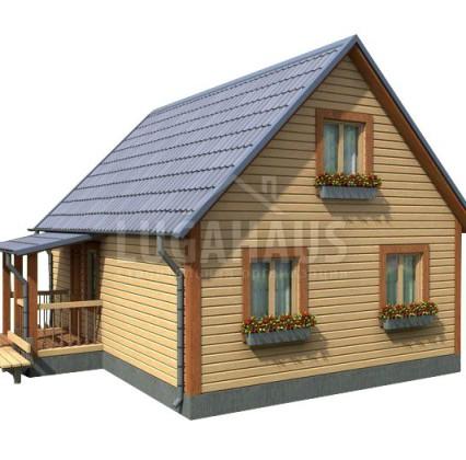 Дом №16 Размер 8х6м