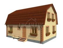 Дом №18 Размер 9х6м