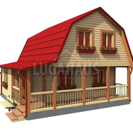Дом №20 Размер 7,5х7,5м