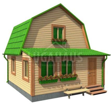 Дом №3 Размер 6х6м