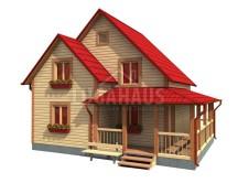 Дом №21 Размер 8,5х7м