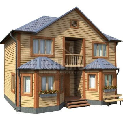 Дом №23 Размер 9х7м