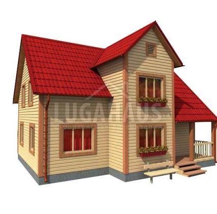 Дом №27 Размер 10х8м