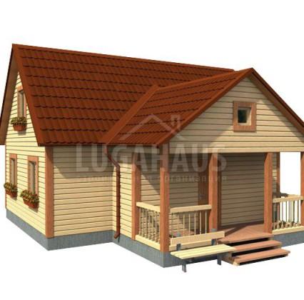 Дом №30 Размер 10х9м