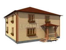 Дом №32 Размер 10х10м