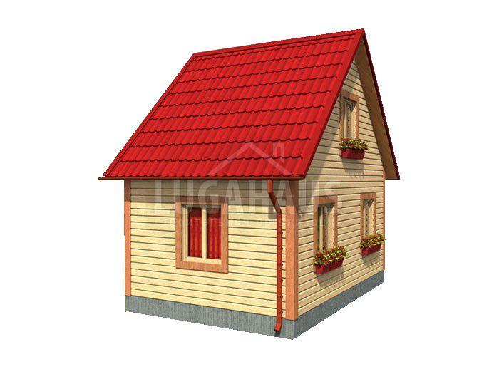 Дом №1 Размер 6х4м - Фото 2