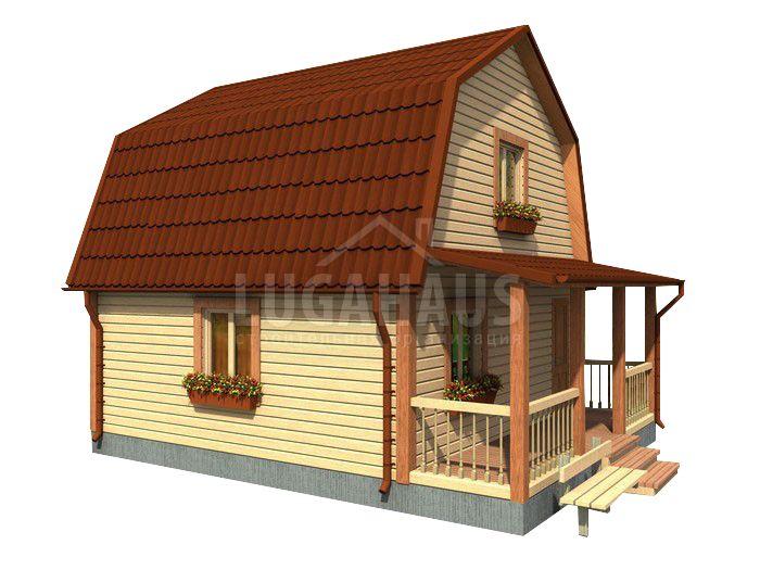 Дом №11 Размер 6х7,5м - Фото 2