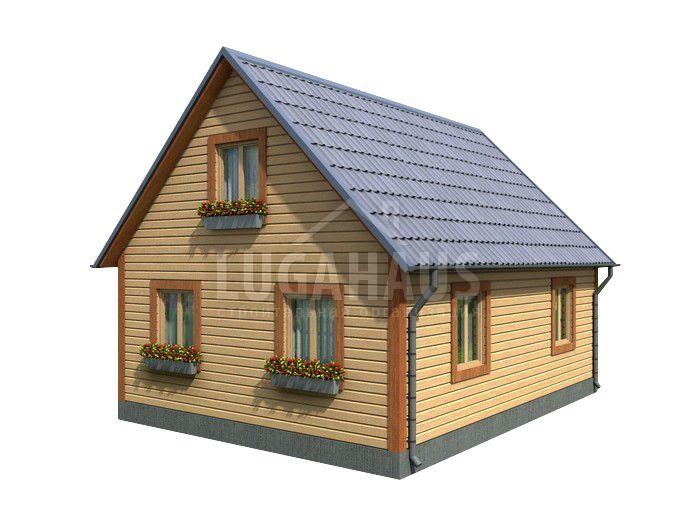 Дом №16 Размер 8х6м - Фото 2