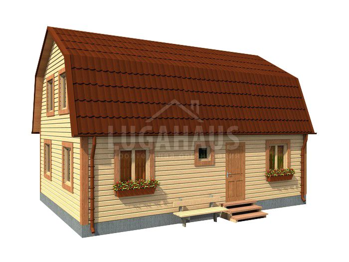 Дом №18 Размер 9х6м - Фото 2