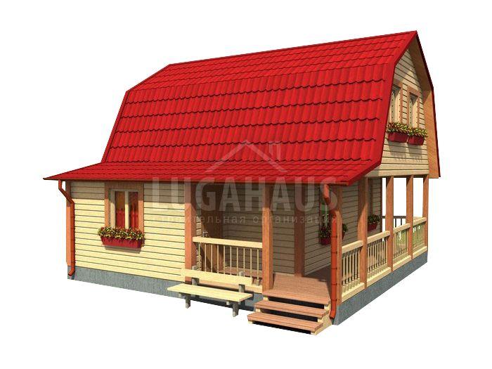 Дом №20 Размер 7,5х7,5м - Фото 2