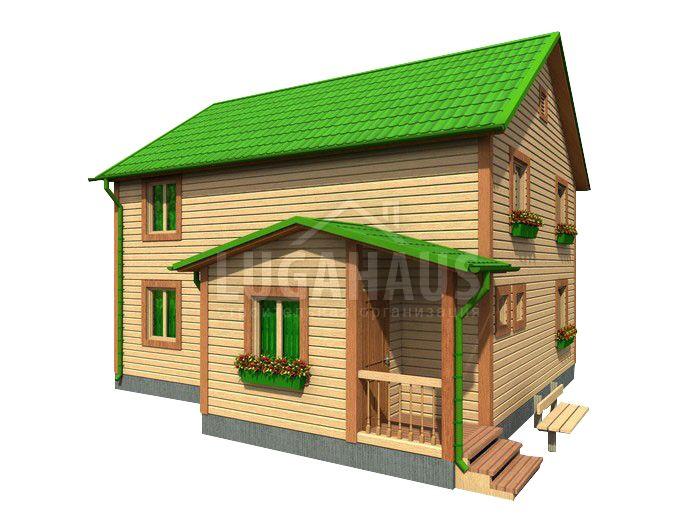 Дом №28 Размер 8,5х9м - Фото 2