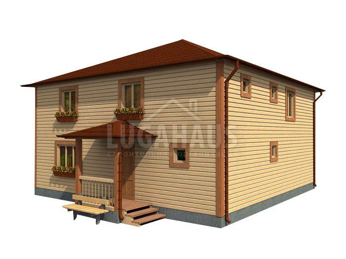 Дом №32 Размер 10х10м - Фото 2