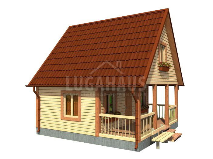 Дом №5 Размер 6х6м - Фото 2