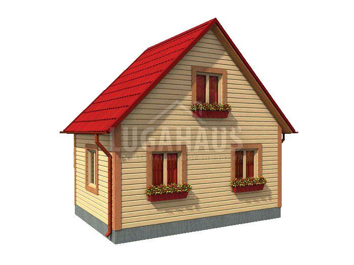 Дом №1 Размер 6х4м - Фото 3