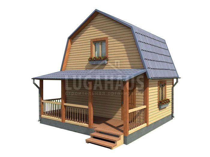 Дом №2 Размер 6х6м - Фото 3