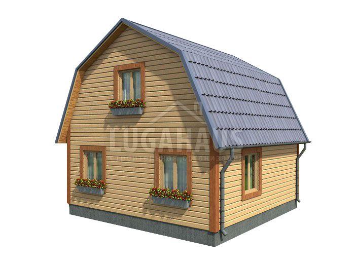 Дом №12 Размер 7,5х6 - Фото 3
