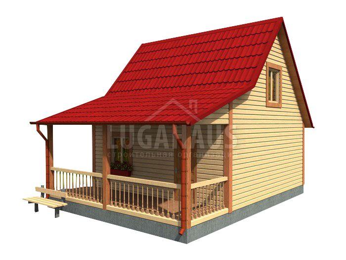 Дом №15 Размер 6х8м - Фото 3