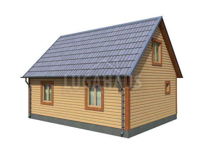 Дом №16 Размер 8х6м - Фото 3