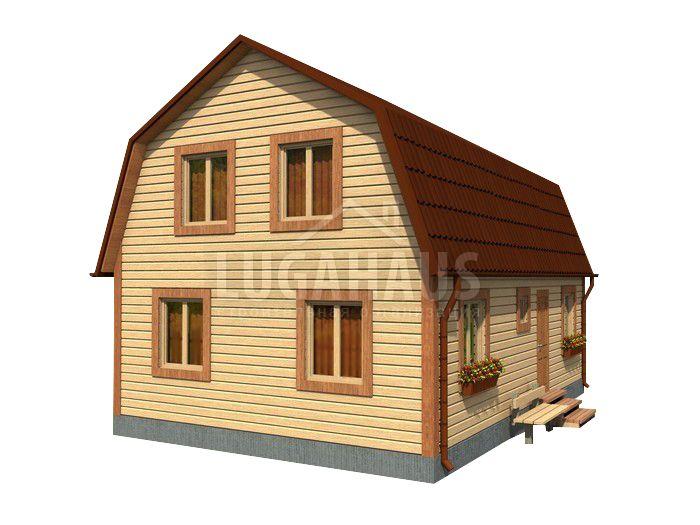 Дом №18 Размер 9х6м - Фото 3
