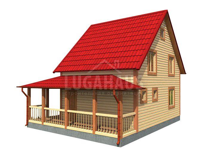 Дом №21 Размер 8,5х7м - Фото 3