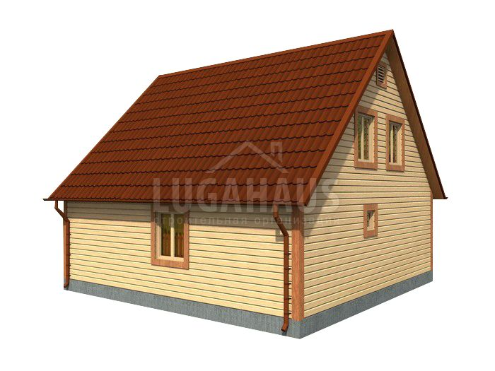 Дом №26 Размер 8х8,5м - Фото 3