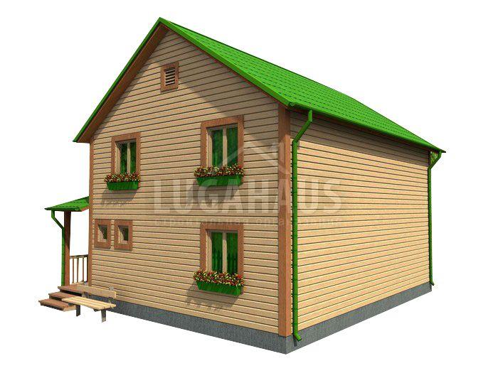 Дом №28 Размер 8,5х9м - Фото 3