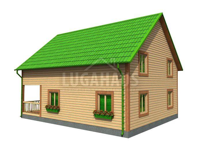 Дом №29 Размер 8х10м - Фото 3