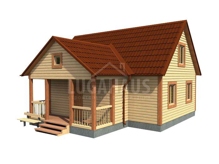 Дом №30 Размер 10х9м - Фото 3