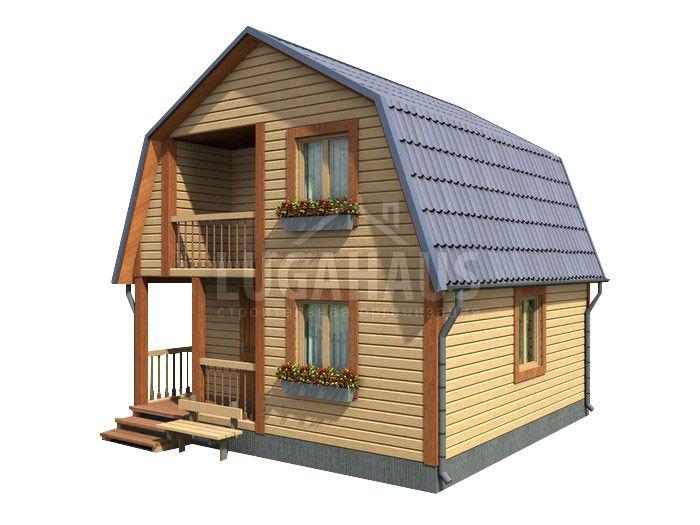 Дом №8 Размер 6х6м - Фото 3