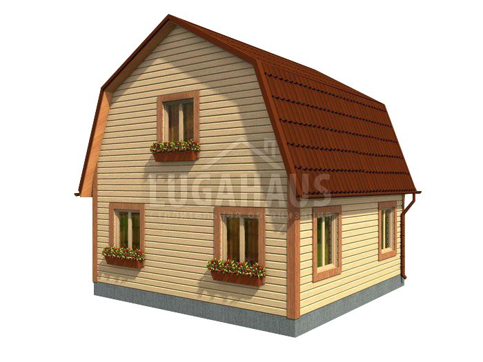 Дом №10 Размер 6х6м - Фото 3