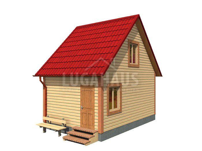 Дом №1 Размер 6х4м - Фото 4