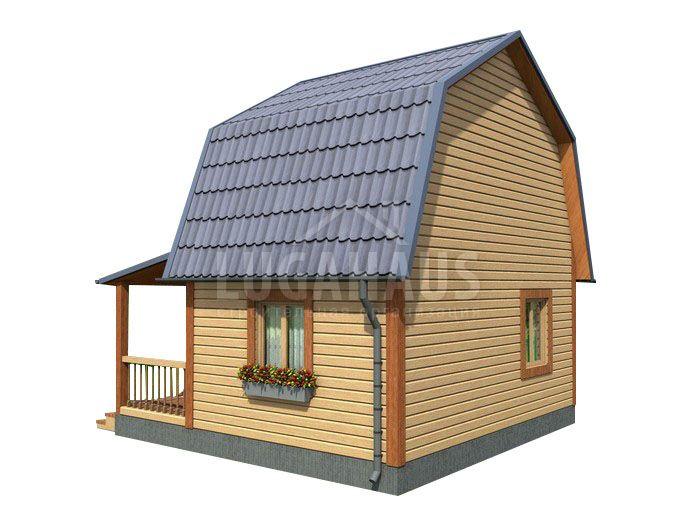 Дом №2 Размер 6х6м - Фото 4