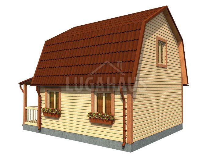 Дом №11 Размер 6х7,5м - Фото 4