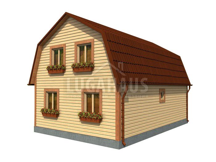 Дом №18 Размер 9х6м - Фото 4