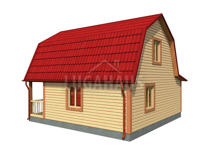 Дом №20 Размер 7,5х7,5м - Фото 4