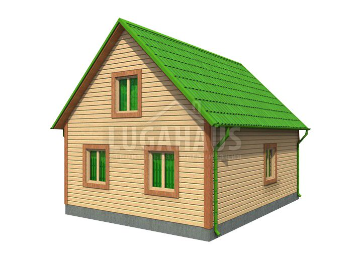 Дом №22 Размер 8х7,5м - Фото 4