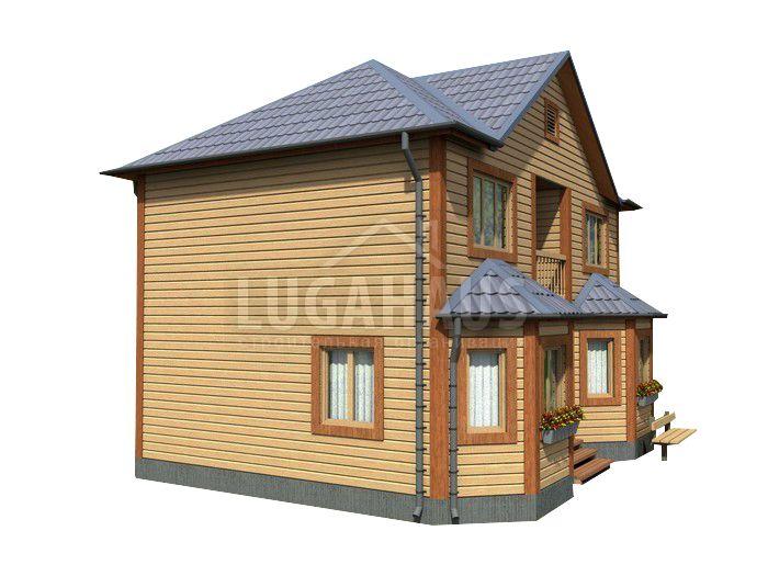 Дом №23 Размер 9х7м - Фото 4