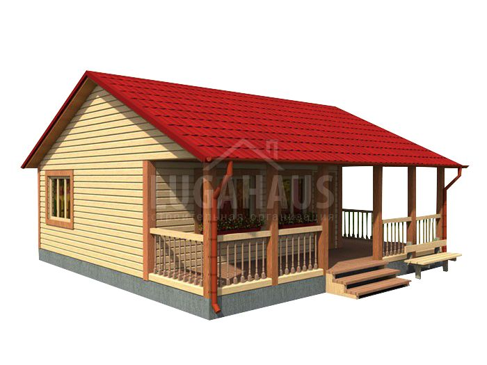 Дом №24 Размер 8х8м - Фото 4