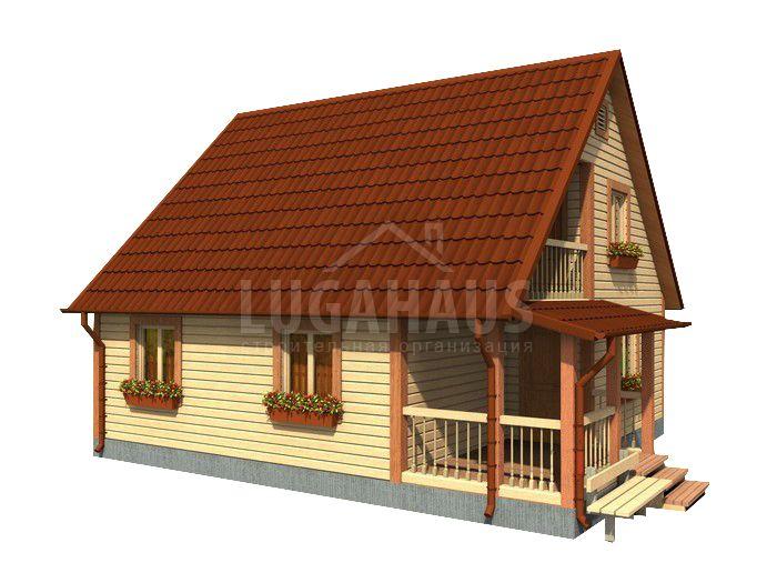Дом №26 Размер 8х8,5м - Фото 4