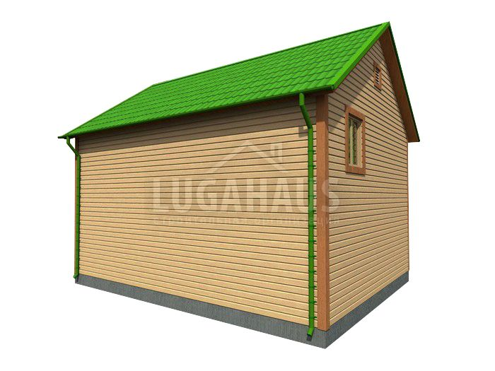 Дом №28 Размер 8,5х9м - Фото 4