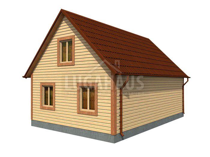 Дом №30 Размер 10х9м - Фото 4