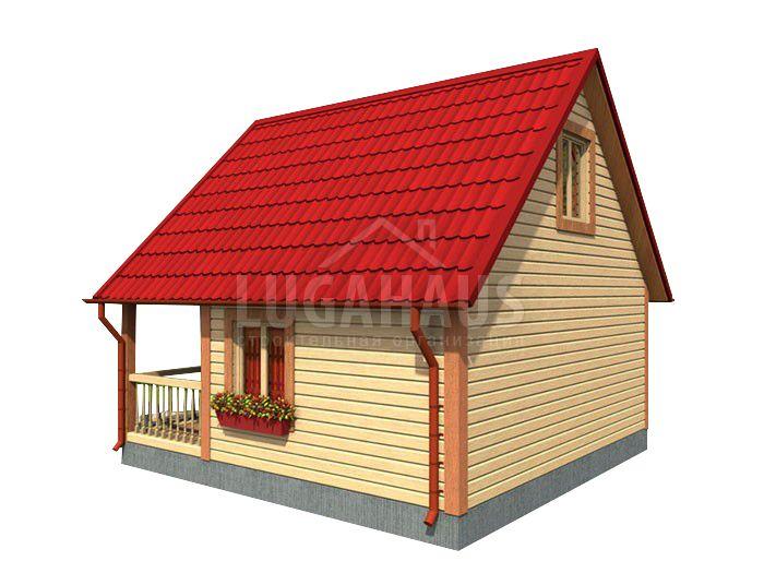 Дом №4 Размер 6х6м - Фото 4