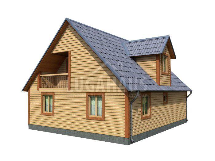 Дом №31 Размер 10х9,5м - Фото 4