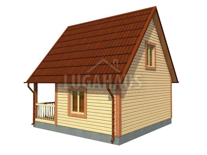 Дом №5 Размер 6х6м - Фото 4